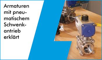 pneumatische Schwenkantriebe
