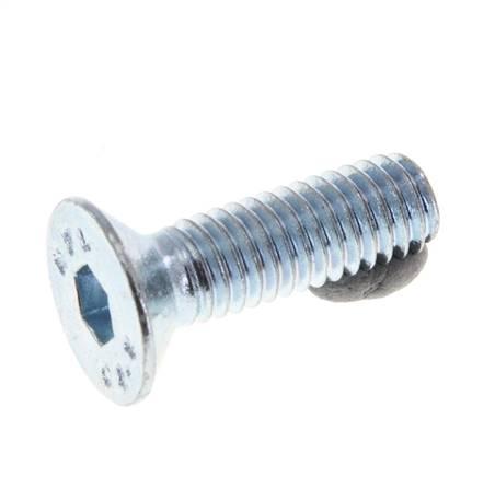 ISO 4014 verzinkt DIN 931 20X M6x90 Sechskantschrauben Teilgewinde 8.8 galv M6 x 90 20 St/ück