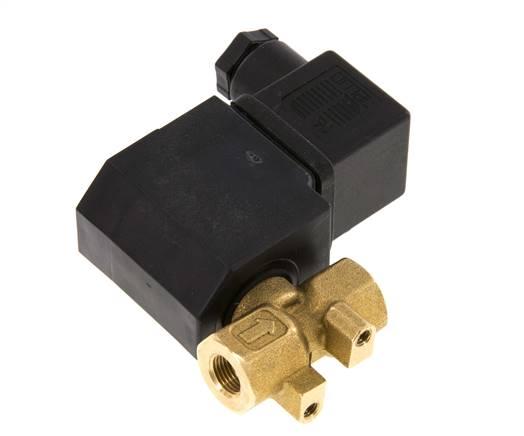 Fl/üssigkeit 12V Magnetventil in 2 Varianten /Öffner oder Schliesser Ventil Elektroventil Wasser Pneumatik Stromlos geschlossen