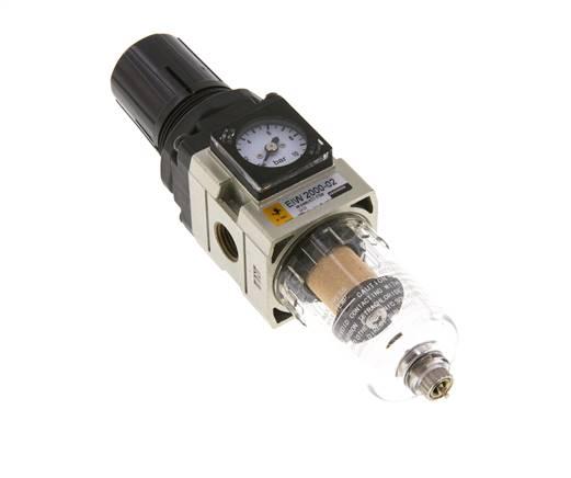 Pneumatischer Luftfilterregler 1 2in BFR4000 Luftquellenbehandlung Filter/öl Wasserabscheider Kompressor mit Schutzhaube