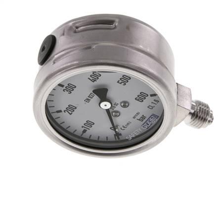PN 250 400 auch NPT-Gew. Manometer-Stoßminderer für Flüssigkeiten und Gase
