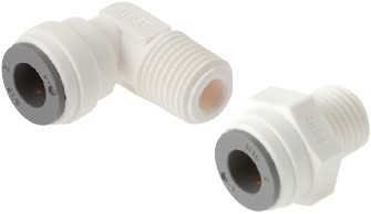 "IQS push in fittings - LE (4 - 12 mm & 5/32"" - 1/2"")"