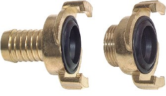 claw-couplings, garden hose, 40 mm claw width