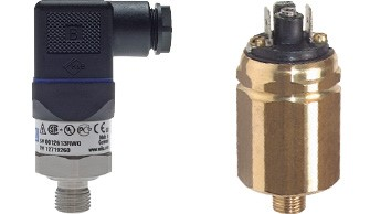 pressure gauge transducer - pressure switch - flow meter (also for vacuum)