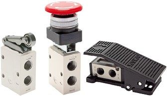 Limit switches, button actuated valves & foot valves - YPC
