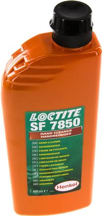 Hand cleaner with orange fragrance (Loctite), 400 ml plastenka litre (7850/400)
