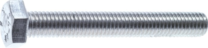 10 Stk Sechskantschraube DIN 933 10.9 M16 x 45 verzinkt