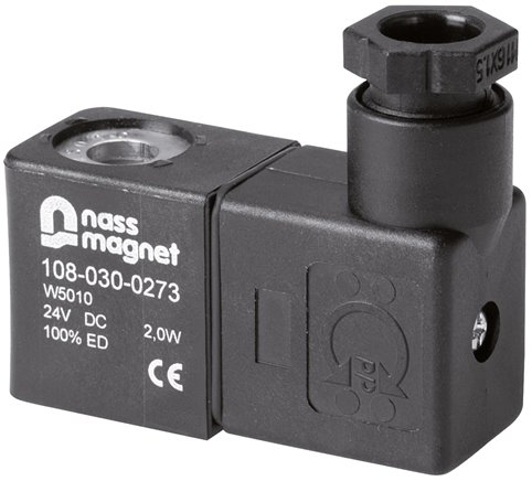 Solenoids for solenoid valves