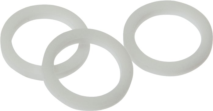 Gaskets made of PTFE for threads M 5 (DR 50 TE)