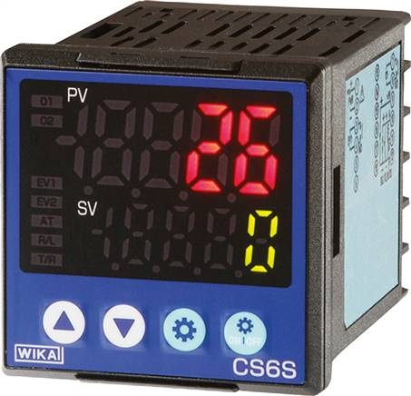 Digitalni regulator temperature za panelno vgradnjo, 48 x 48 mm