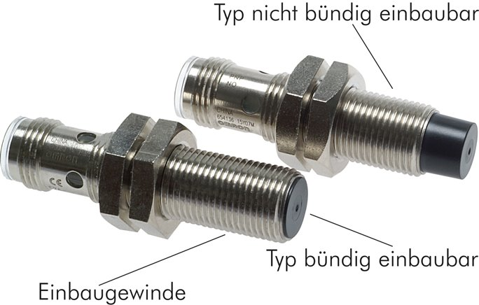 Inductive proximity switches, M 8 / M 12 / M 18 (will be discontinued)