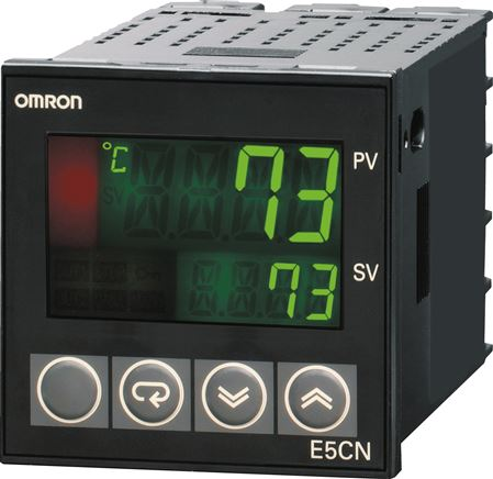 Digital regulator with temperature or analogue actual value inputs, 48 x 48 mm (will be discontinued)