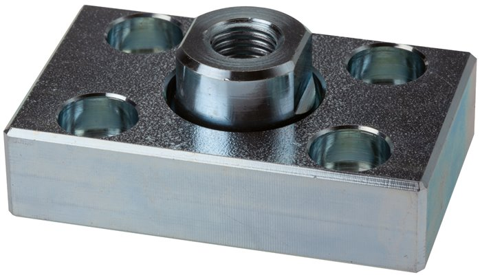 Flexo couplings with mounting plate, for compact cylinder UNITOP