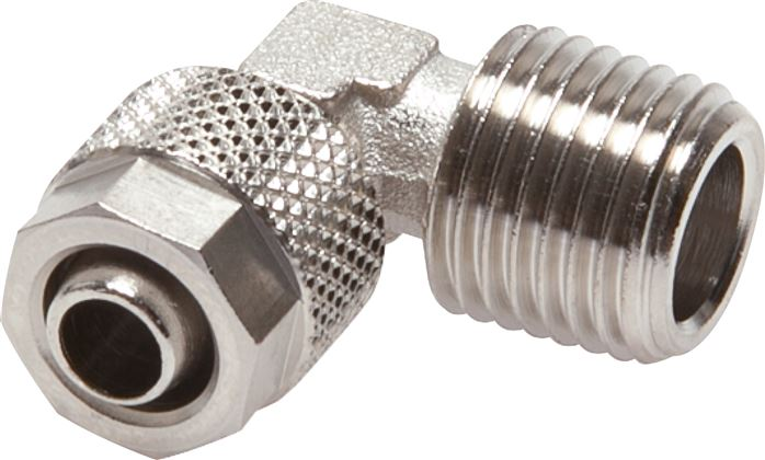Elbow screw connections, conical thread, CK
