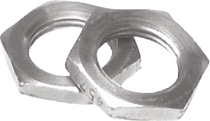 Cylinder head fastening nuts, for round cylinders ISO 6432