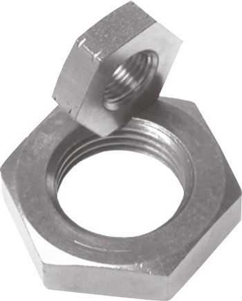 Piston rod nuts, for compact cylinder UNITOP