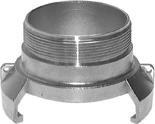 Guillemin couplings with male thread, without locking