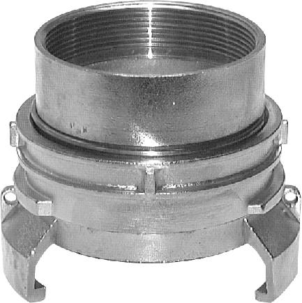 Guillemin couplings with female thread, locking