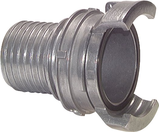 Guillemin couplings with hose nipple, locking
