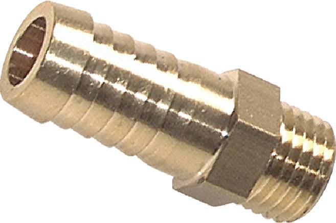Threaded nozzles with metric thread, PN 16