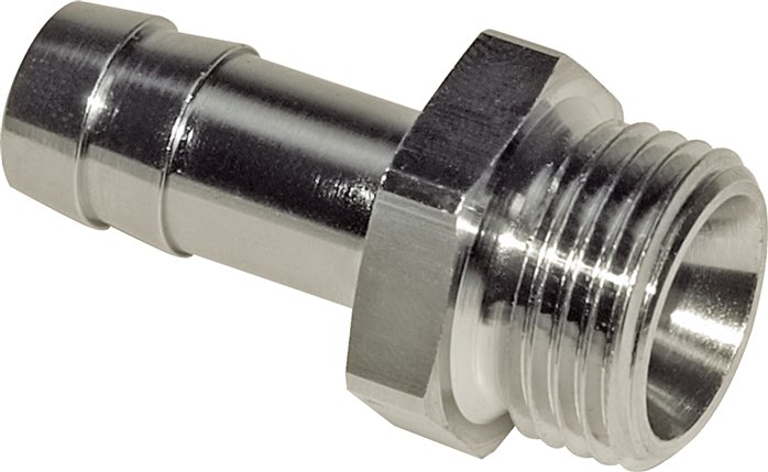 "Gewindetülle G 1/8""-4mm, 16 bar Messing vernickelt (GT 184 MSV)"