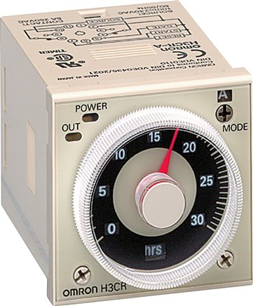 Multi-function time relay, 48 x 48 mm