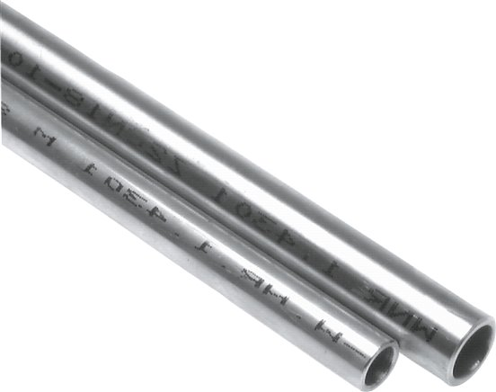120cm auf Zuschnitt L/änge 1200mm Edelstahl Rundrohr V2A /Ø 30x1,5mm K240