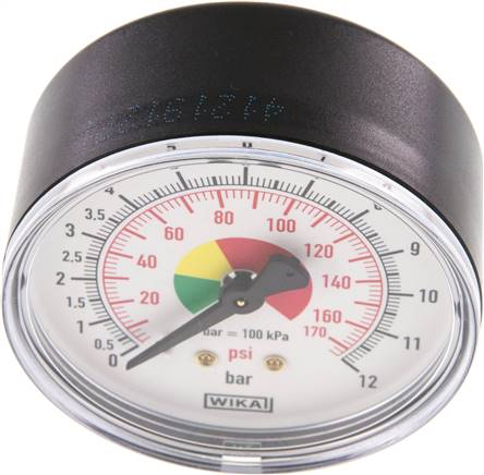 "Manometer f. HRF 63mm, 0 - 12 bar, R 1/4"" (HRFS MANO)"