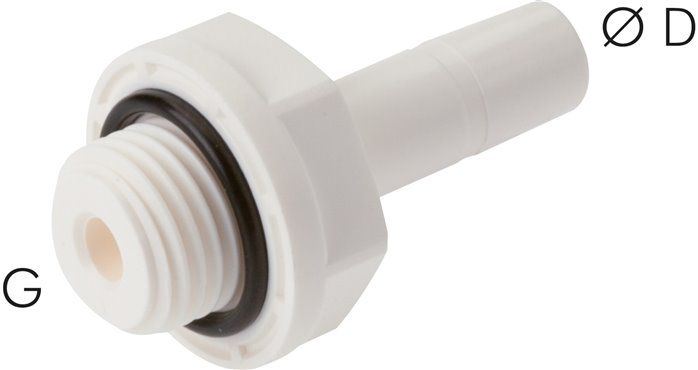"Schroeftule G 1/8""-6mm steeknippel, IQS-LE (EPDM-afdichting) (IQSG 186H G LE)"
