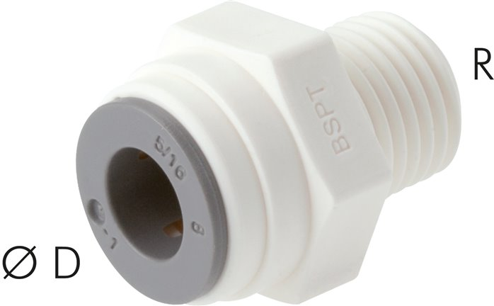 Push in fittings, LE (metric)