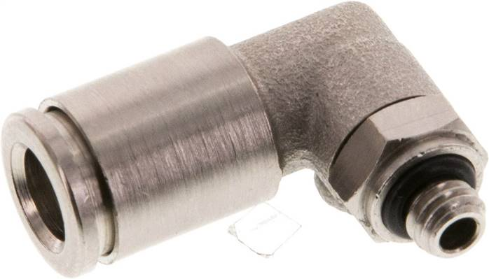 Angle push in fitting M 5-6mm, IQS-MSV (Standard) (IQSL M56 MSV)
