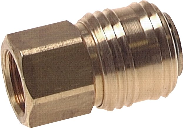 Coupling sockets With female thread, NW 7.2