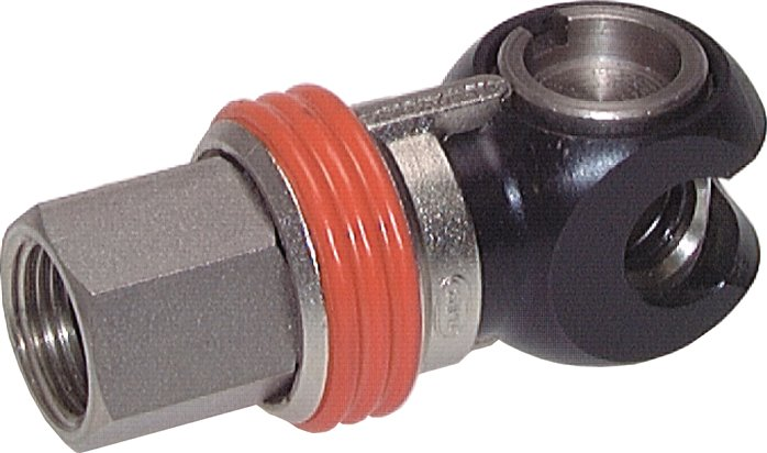 Safety swivel coupling sockets NW 7.2 (female thread)