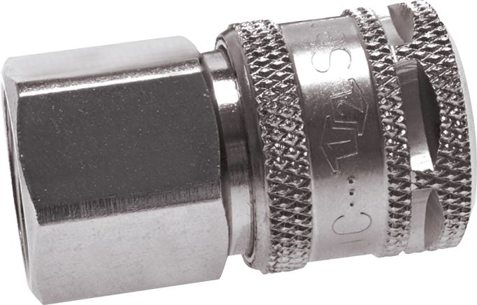 "Safety coupling socket (NW7,2) G 1/4""(Female thread), Eco (KDGISI 14 NW7 E)"