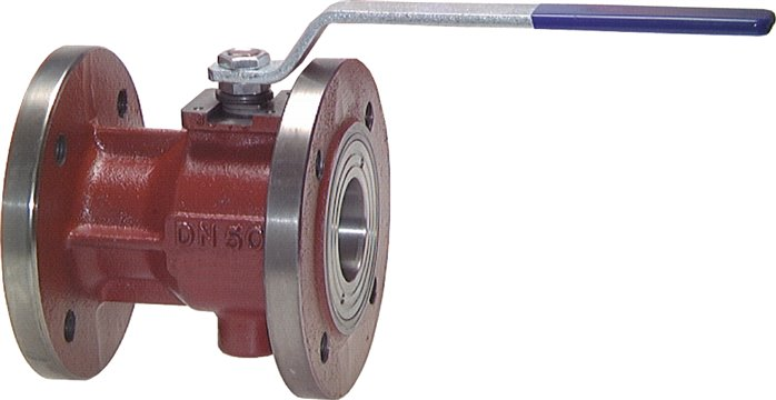 Flanged ball valves, 1-part, full bore, PN 16