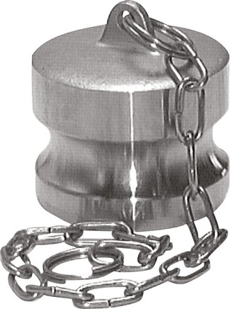 Valve plug for quick coupling sockets, Type DP