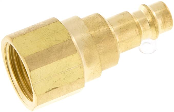 "Coupling plug (NW7,2) G 1/2""(Female thread) with check valves (KSGI RUCK 12 NW7)"