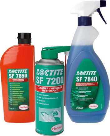 Exemplary representation: Loctite cleaner