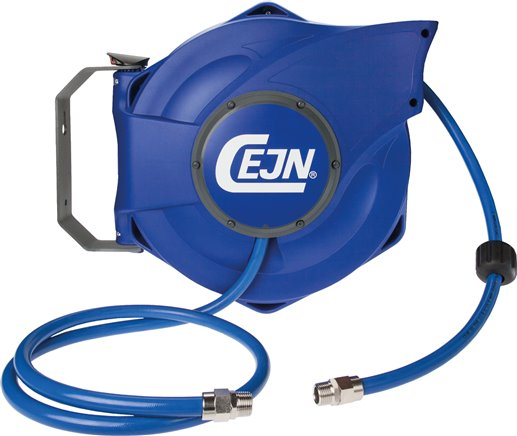 CEJN automatic hose reels for compressed air and water, up to 16 bar