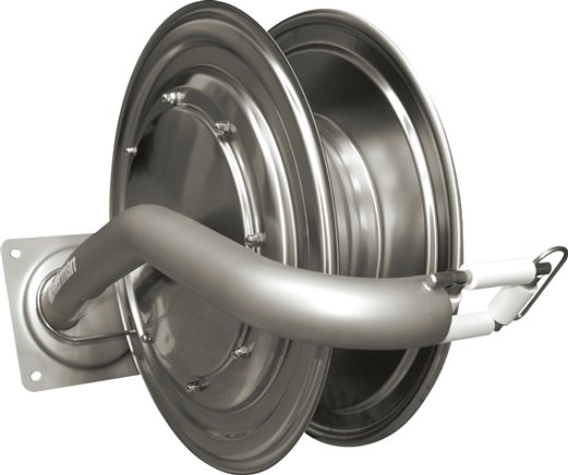 Hose reel for hygiene area, to 250 bar (will be discontinued)