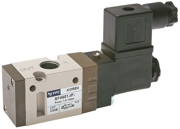 "3/2-way solenoid valves with spring return G 1/4"", SF4000 model series"