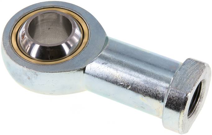 Swivel head, M 27 x 2, Zinc plated steel (SGS 125)
