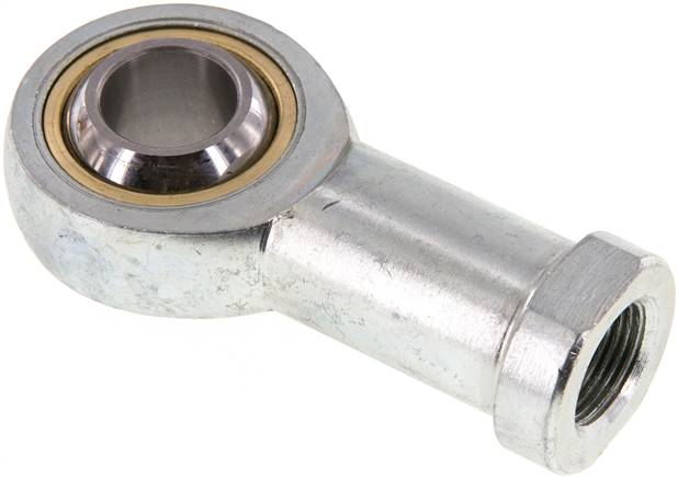 Swivel head, M 20 x 1.5, Zinc plated steel (SGS 80/100)