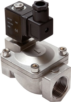 2/2-way solenoid valves made of stainless steel, Eco-Line