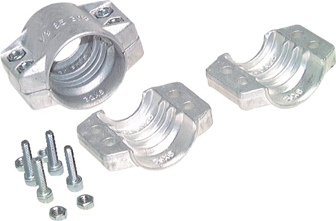clamps 143 -148mm, Aluminij, EN14420-3 (DIN2817) (SSA 148)