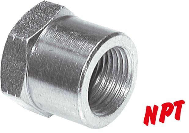 1 4 Npt >> Verschlusskappen mit NPT-Gewinde, bis 345 bar - Landefeld - Pneumatik - Hydraulik - Industriebedarf