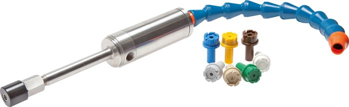 VORTEX pipes - compressed air operated cold generators