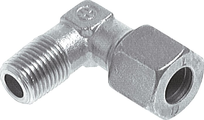 Angle screw in connections, R-threads / G-threads