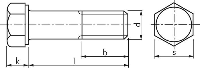 DIN931 PROFI 6kt TGW G8.8 VZ SGH 3 Stck DIN 931 // ISO 4014 PROFI Sechskant Schraube mit Schaft G/üte 8.8 verzinkt Stahl geh/ärtet M16 x 120