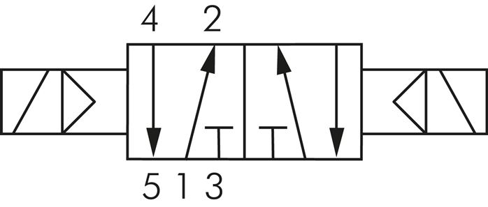 "3/2 way Solenoid Valve 3/8"" NPT Ports 3V310-10 - HQC Tools ...  Three Way Valve Symbol"